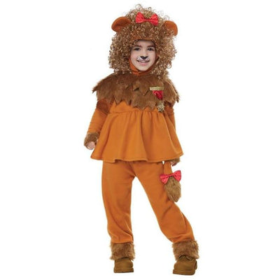 Courageous Lion of Oz Costume - Toddler - Party Zone USA