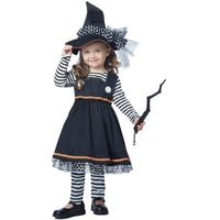 Crafty Little Witch Girl's Costume - Toddler - Party Zone USA