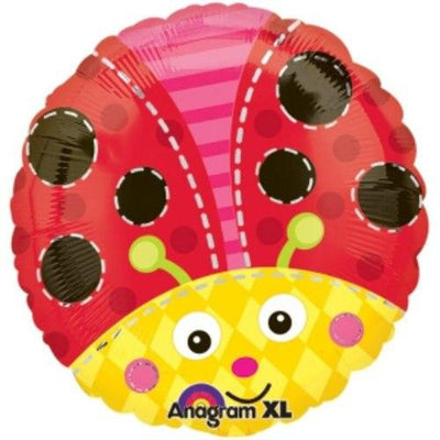 Cute Lady Bug Mylar Balloon - Party Zone USA