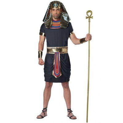 Deluxe Pharaoh Adult Costume - Men's - Party Zone USA