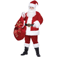 Deluxe Santa Suit Adult Costume - Party Zone USA
