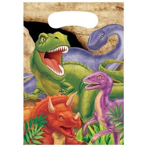 Dino Blast Loot Bags (8) - Party Zone USA