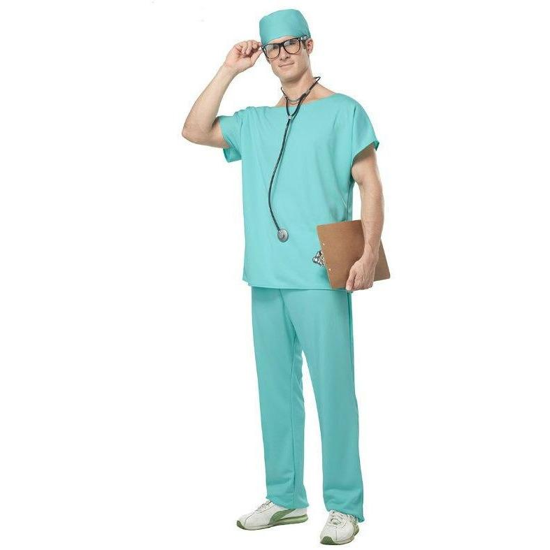Doctor Scrubs Costume - Men's - Party Zone USA