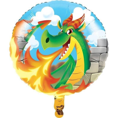 Dragons Party Balloon - Party Zone USA