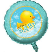 Ducky Bubble Bath Baby Shower Balloon - Party Zone USA