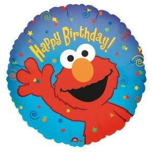 Elmo Happy Birthday Balloon - Party Zone USA