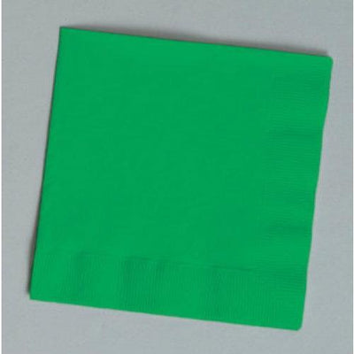 Emerald Green Luncheon Napkins (24) - Party Zone USA