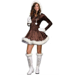 Eskimo Cutie Pie Costume - Junior (XS 0-1) - Party Zone USA