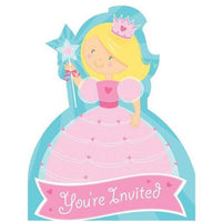Fairytale Princess Invitations (8) - Party Zone USA