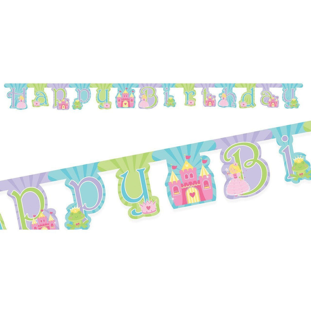 Fairytale Princess Jointed Banner - Party Zone USA