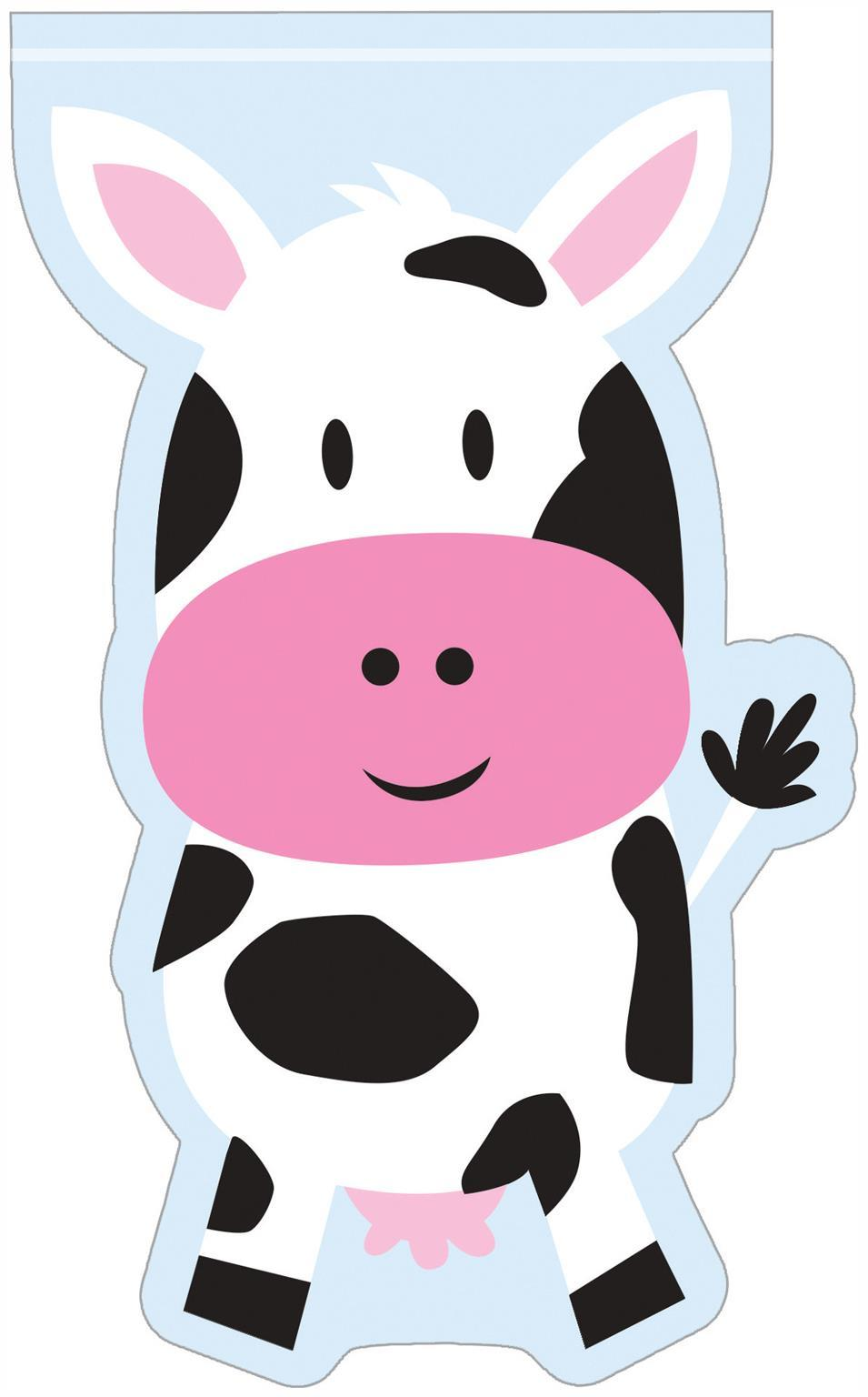 Farmhouse Fun Cow Favor Bags (12) - Party Zone USA
