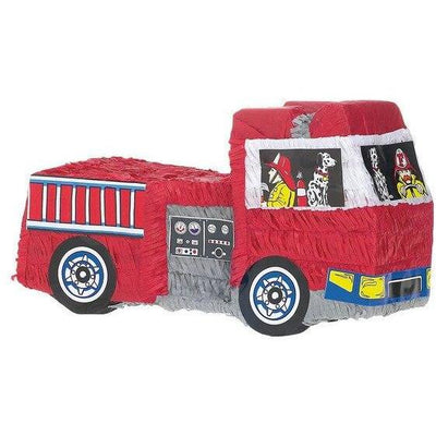 Fire Truck Pinata - Party Zone USA