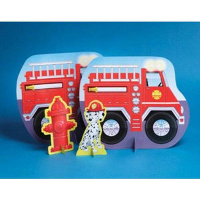 Firefighter Fire Man Party Centerpiece - Party Zone USA