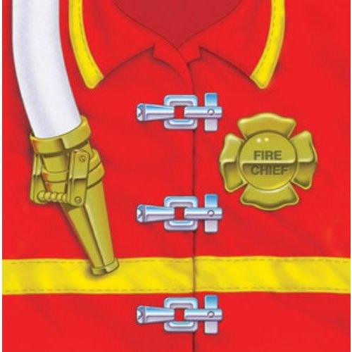 Firefighter Party Beverage Napkins (16) - Party Zone USA