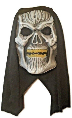 Flip Up SKULL Halloween Mask - Party Zone USA