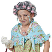 Girl's Old Lady Costume Kit - Party Zone USA