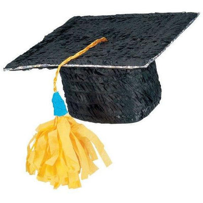 Graduation Cap Pinata - Party Zone USA
