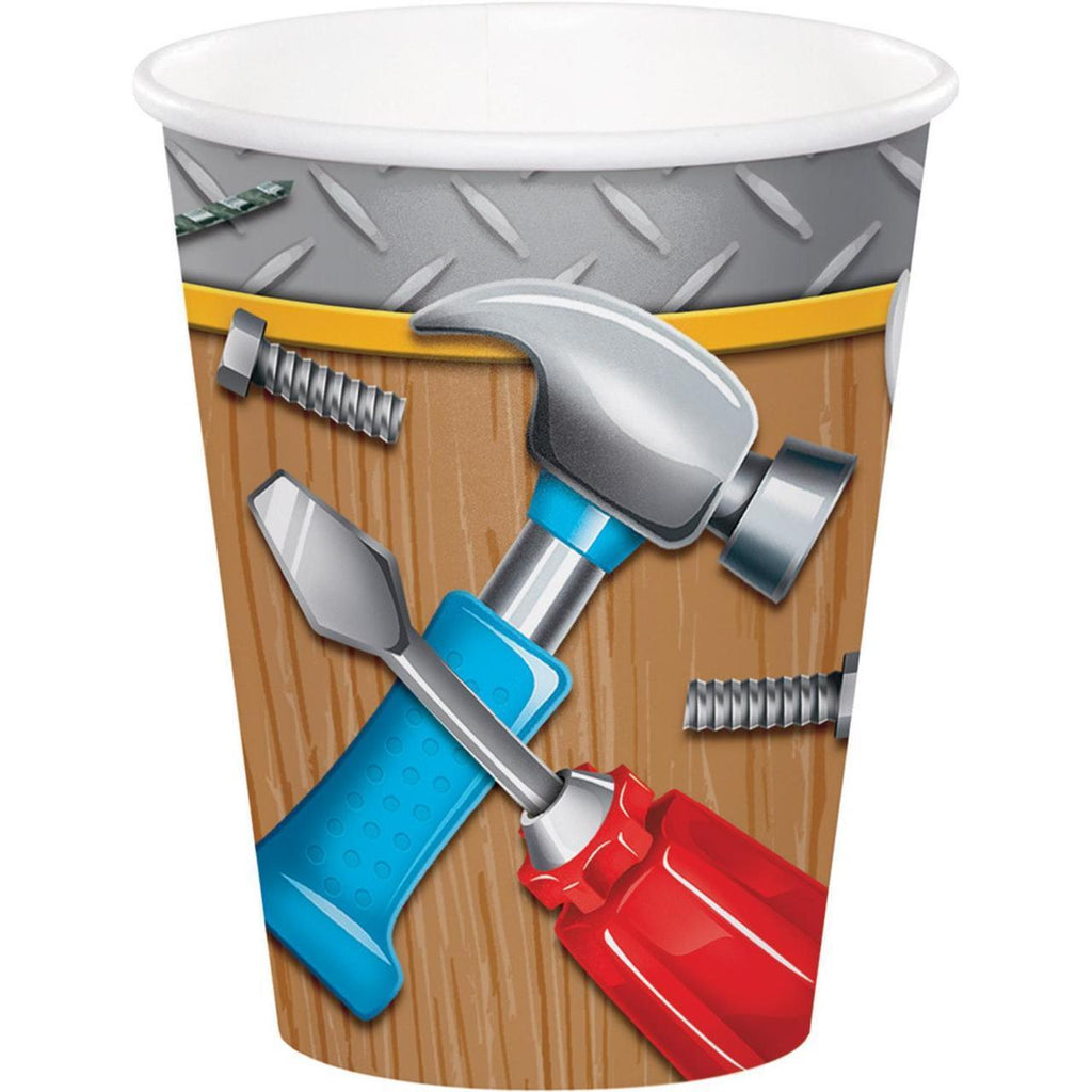 Handyman Party Cups (8) - Party Zone USA