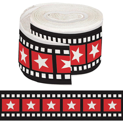 Hollywood Movie Reel Crepe Paper Streamer - Party Zone USA