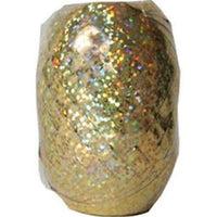 HOLOGRAPHIC GOLD Curling Ribbon Egg (75 ft.) - Party Zone USA