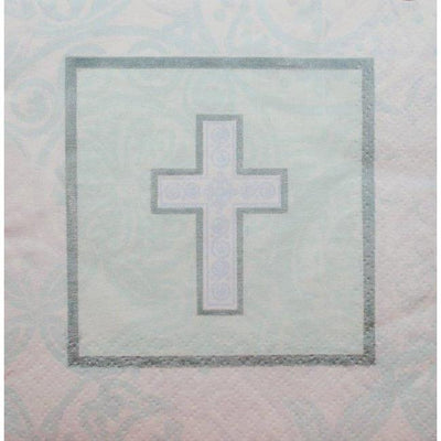 Holy Cross Religious Party Beverage Napkins (30) - Party Zone USA