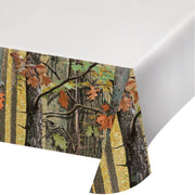 Hunting Camo Table Cover - Party Zone USA