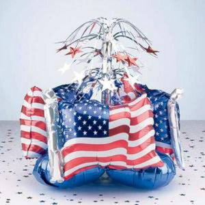 Inflatable Patriotic Centerpiece - Party Zone USA
