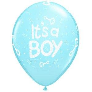 It's a Boy Baby Shower Balloons (10) - Party Zone USA