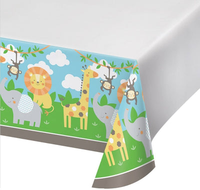 Jungle Animals Table Cover - Party Zone USA