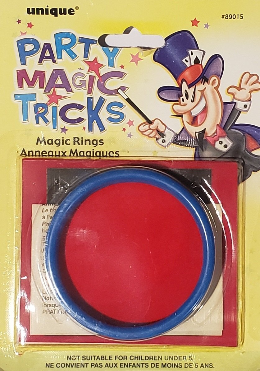 Kid's Magic Rings Trick Party Favor - Party Zone USA