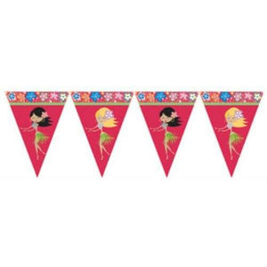 Let's Hula Flag Banner - Party Zone USA