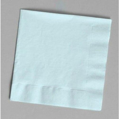 Light Blue Luncheon Napkins (24) - Party Zone USA
