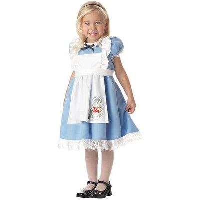 Lil' Alice in Wonderland Toddler Girl's Costume - Party Zone USA