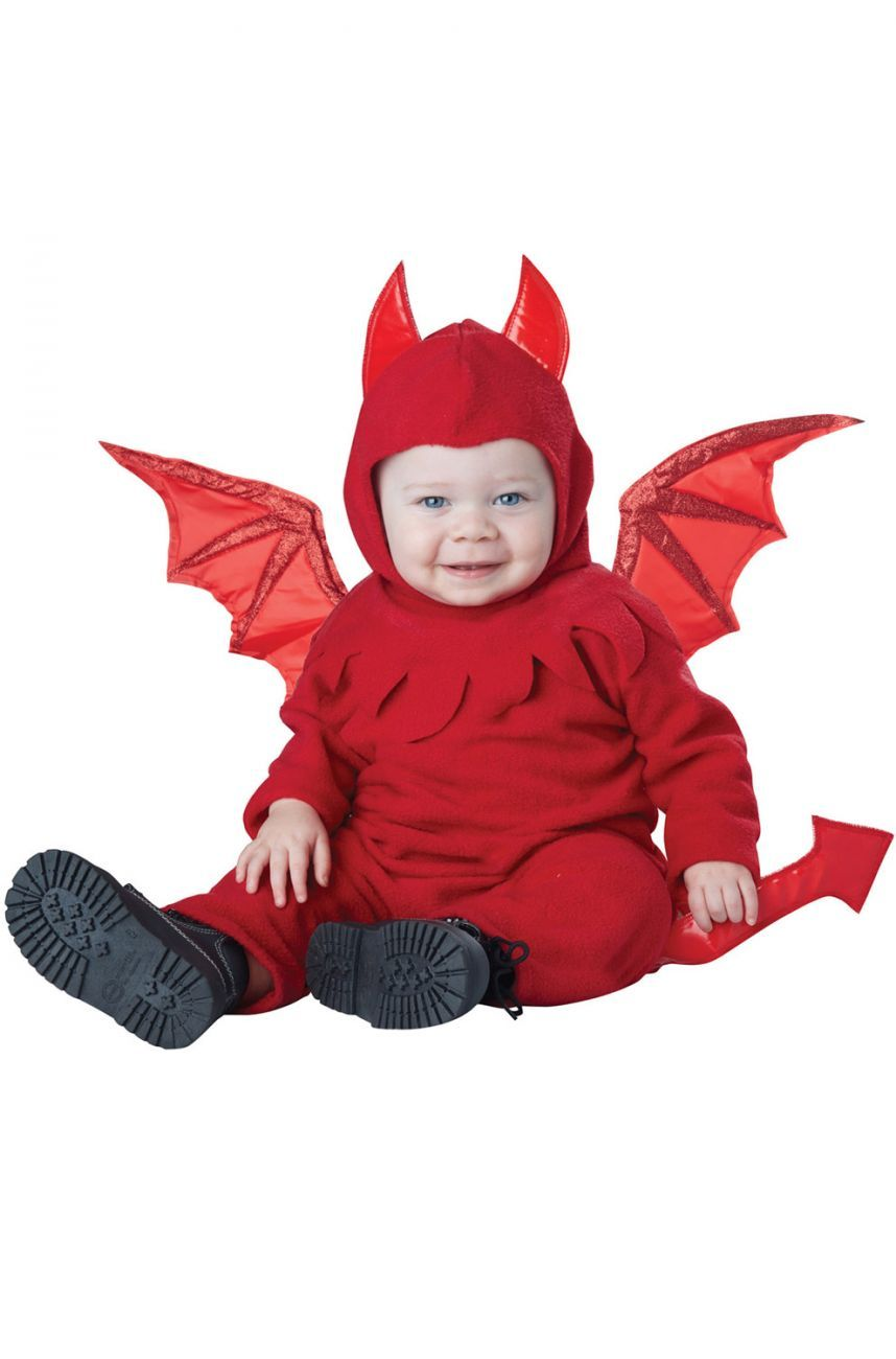 Lil Devil Infant Costume - Party Zone USA