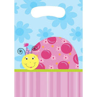 Lil' Lady Ladybug Favor Bags (8) - Party Zone USA