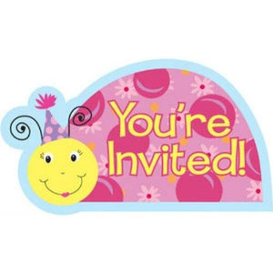 Lil' Lady Ladybug Invitations - Party Zone USA