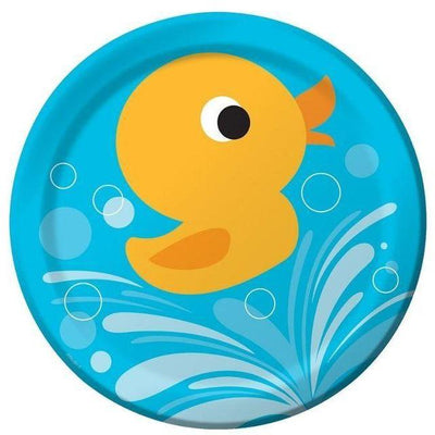 Lil Quack Ducky Dinner Plates (8) - Party Zone USA