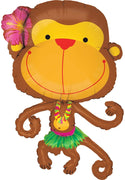 Linky Monkey Mylar Balloon - Party Zone USA