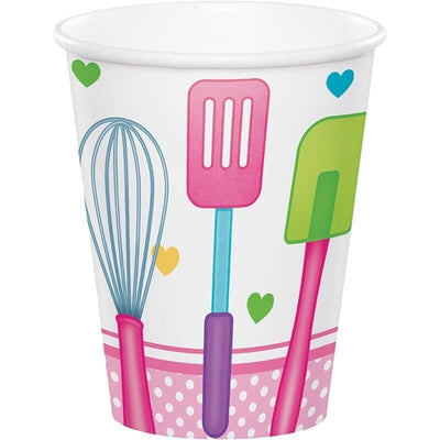 Little Chef Party Cups (8) - Party Zone USA