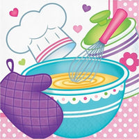 Little Chef Party Lunch Napkins (16) - Party Zone USA