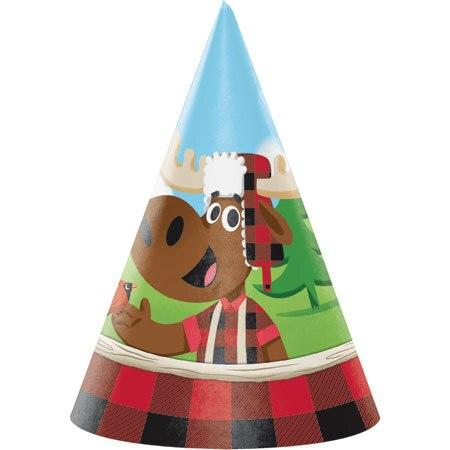 Lum-Bear-Jack Hats (8) - Party Zone USA