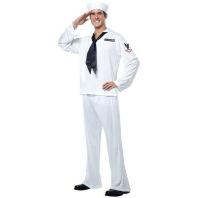 Men's Sailor Costume - Party Zone USA