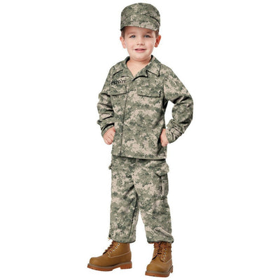 Military Soldier Boy's Costume - Toddler - Party Zone USA