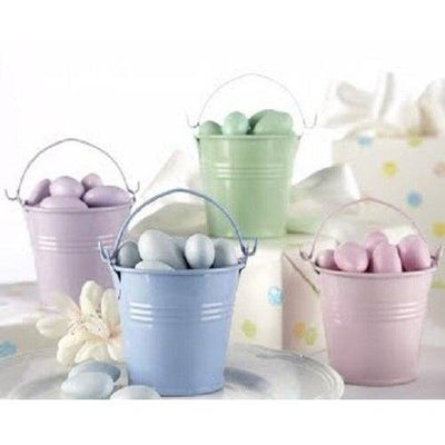 Mini Tin Pail Bucket Party Favor (12) - Party Zone USA