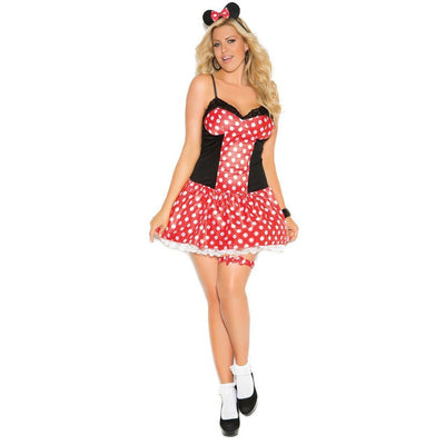 Miss Mouse Costume - Plus - Party Zone USA
