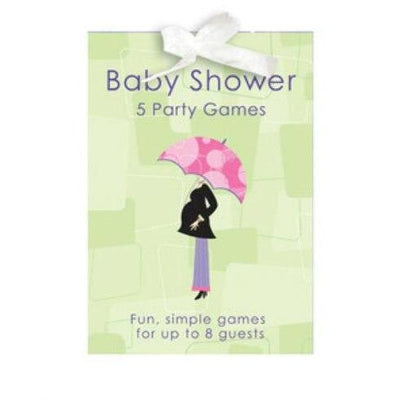 Mod Mom Baby Shower Game Book - Party Zone USA