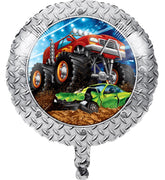 "Monster Truck Rally 18"" Balloon - Party Zone USA"