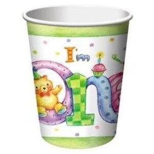 My 1st Birthday Cups (8) - Party Zone USA