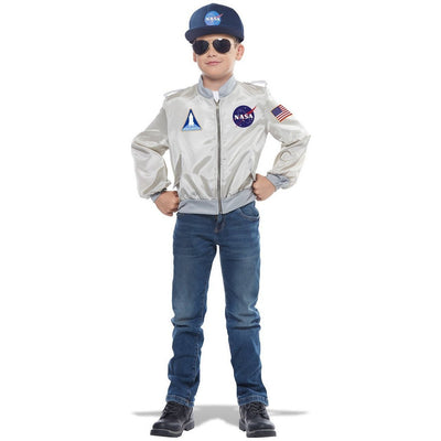 NASA Flight Jacket Costume - Childs - Party Zone USA