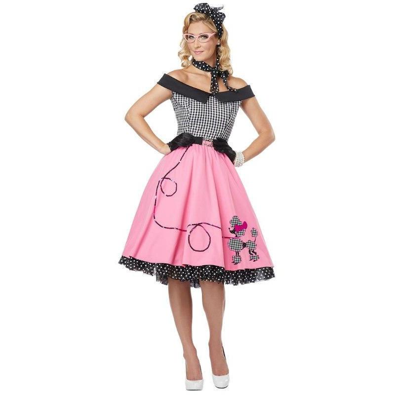 Nifty 50's Poodle Women's Dress Outfit - Party Zone USA